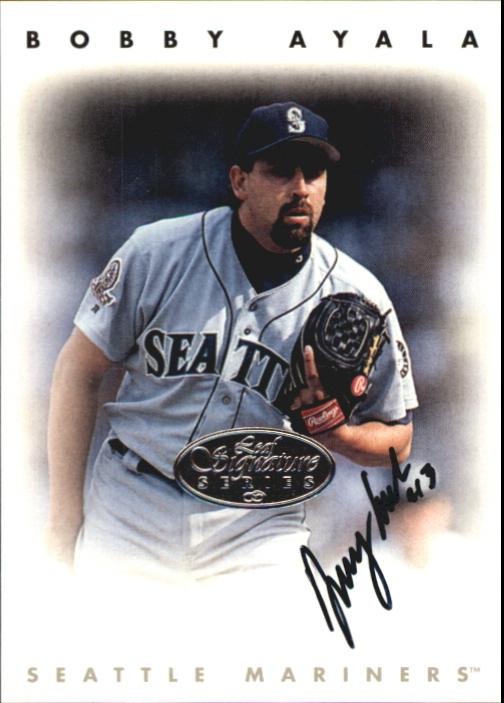1996 Leaf Signature Autographs Silver #13 Bobby Ayala