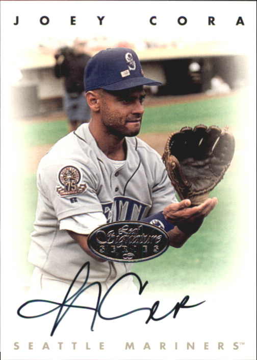 1996 Leaf Signature Autographs Silver #49 Joey Cora