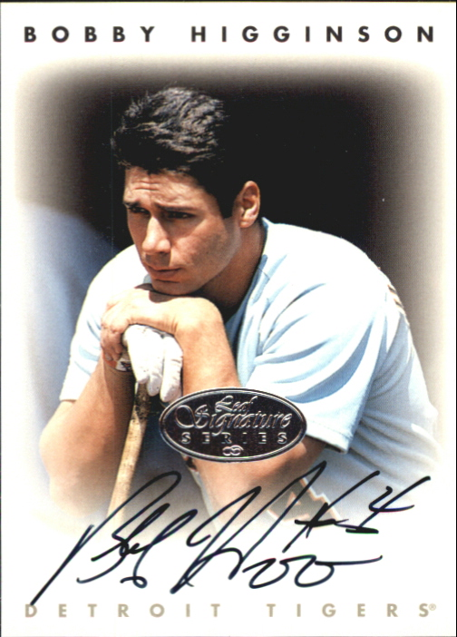 1996 Leaf Signature Autographs Silver #101 Bobby Higginson