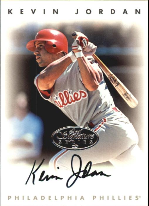 1996 Leaf Signature Autographs Silver #122 Kevin Jordan