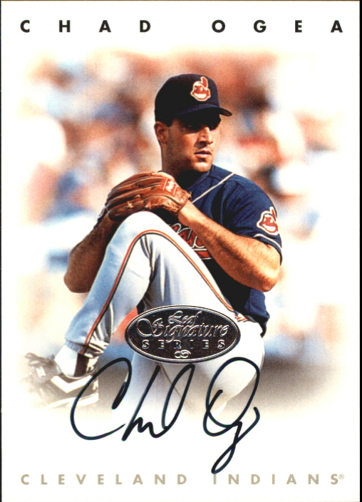 1996 Leaf Signature Autographs Silver #171 Chad Ogea