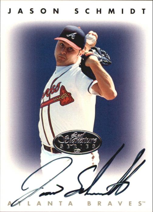 1996 Leaf Signature Autographs Silver #205 Jason Schmidt
