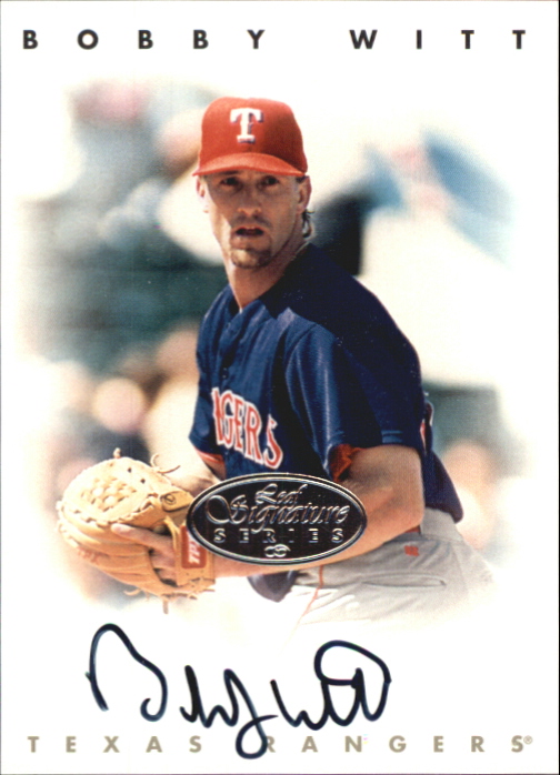 1996 Leaf Signature Autographs Silver #248 Bobby Witt