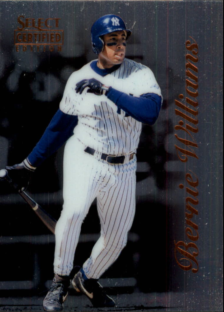 1996 Select Certified #25 Bernie Williams