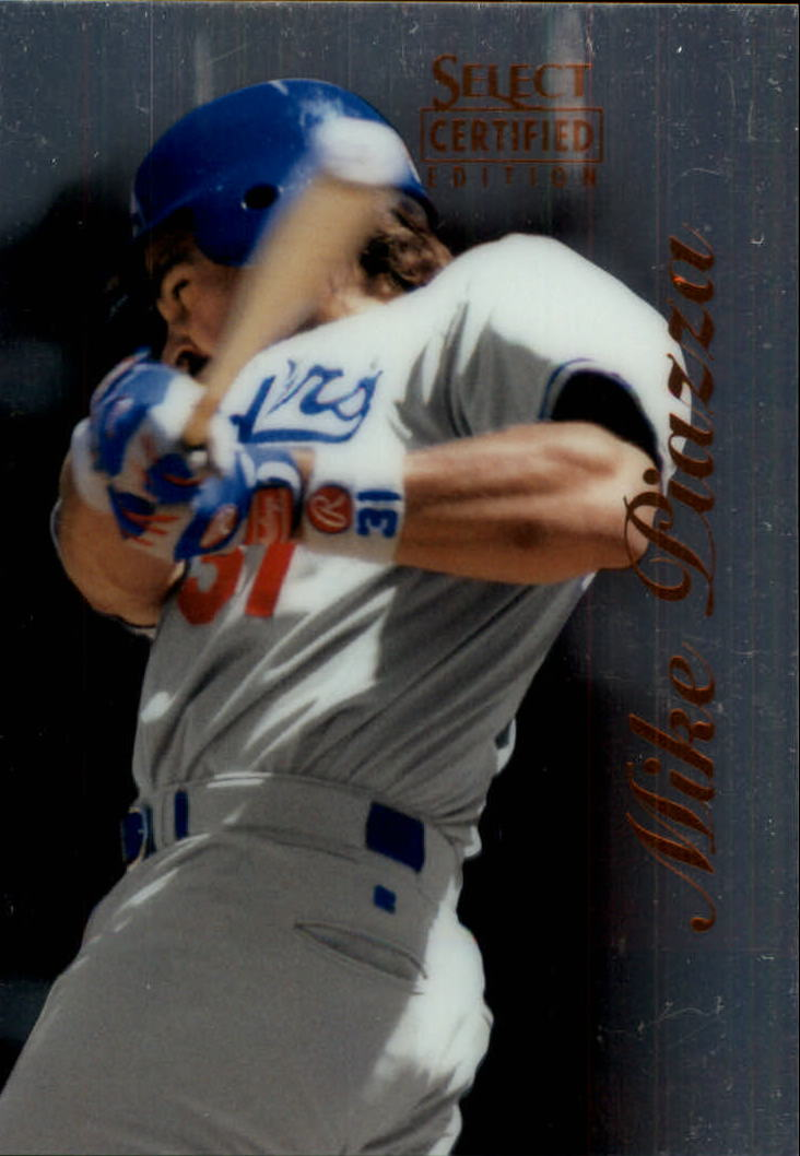 1996 Select Certified #30 Mike Piazza