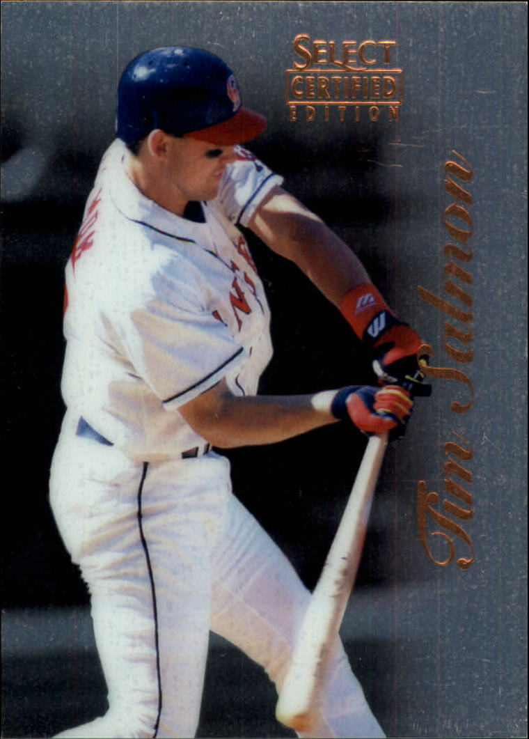 1996 Select Certified #37 Tim Salmon