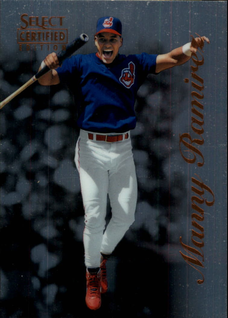1996 Select Certified #51 Manny Ramirez
