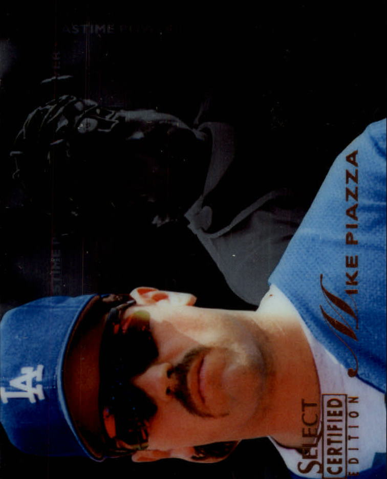 1996 Select Certified #138 Mike Piazza PP