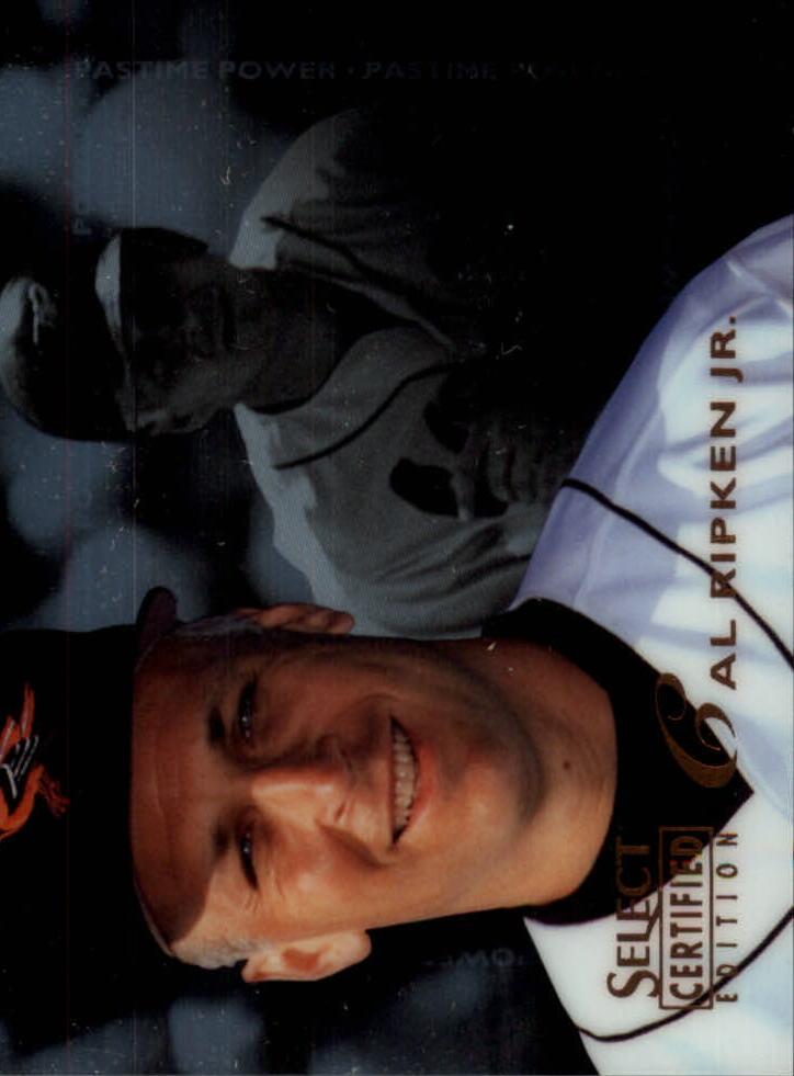 1996 Select Certified #139 Cal Ripken PP