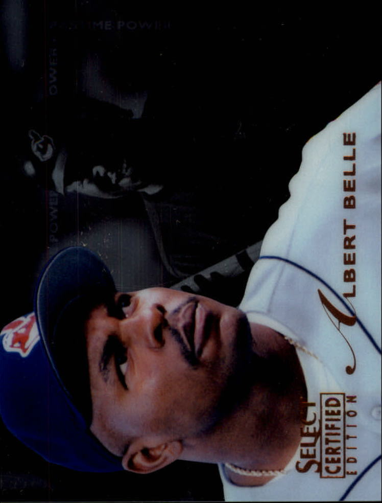 1996 Select Certified #140 Albert Belle PP