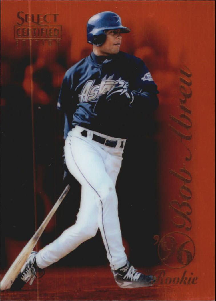 1996 Select Certified Certified Red #104 Bob Abreu