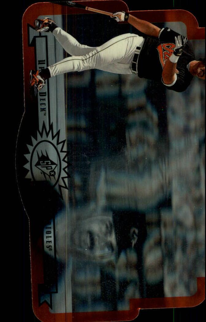 1996 SPx #7 Rafael Palmeiro