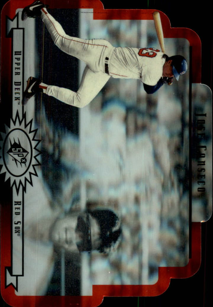1996 SPx #8 Jose Canseco