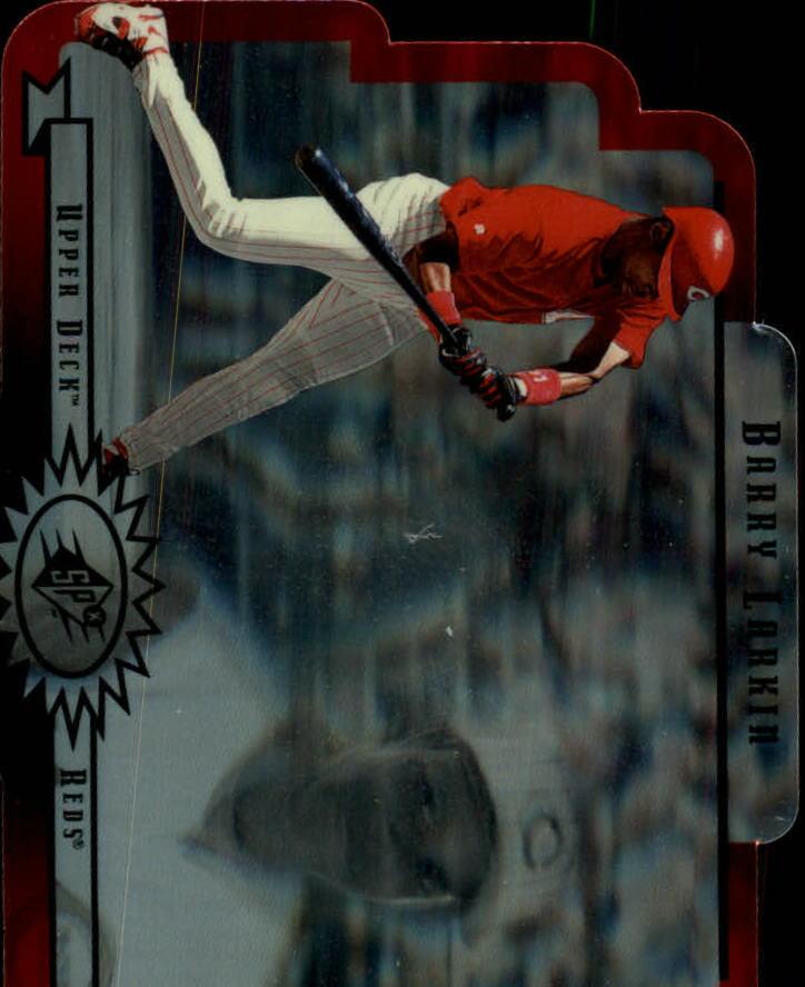 1996 SPx #17 Barry Larkin