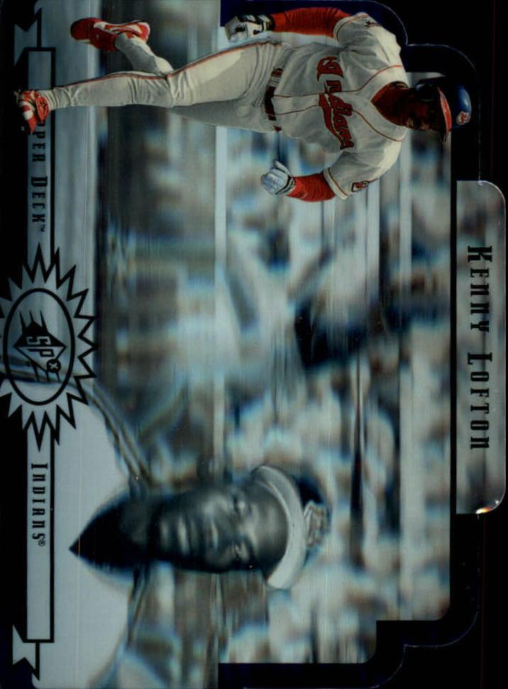 1996 SPx #18 Kenny Lofton