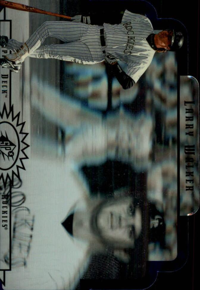 1996 SPx #23 Larry Walker