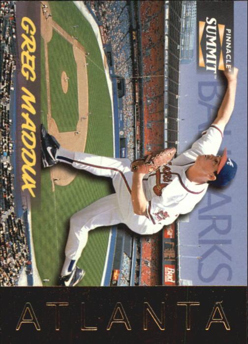 1996 Summit Ballparks #8 Greg Maddux