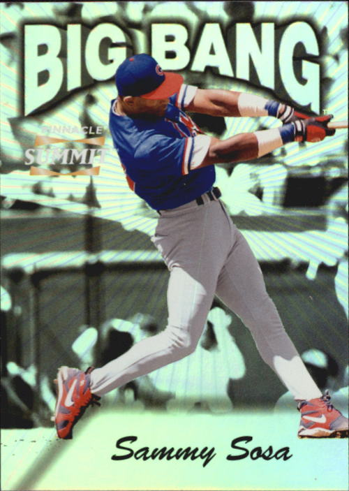 1996 Summit Big Bang #13 Sammy Sosa