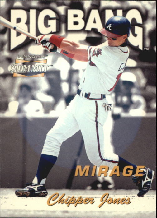1996 Summit Big Bang Mirage #15 Chipper Jones