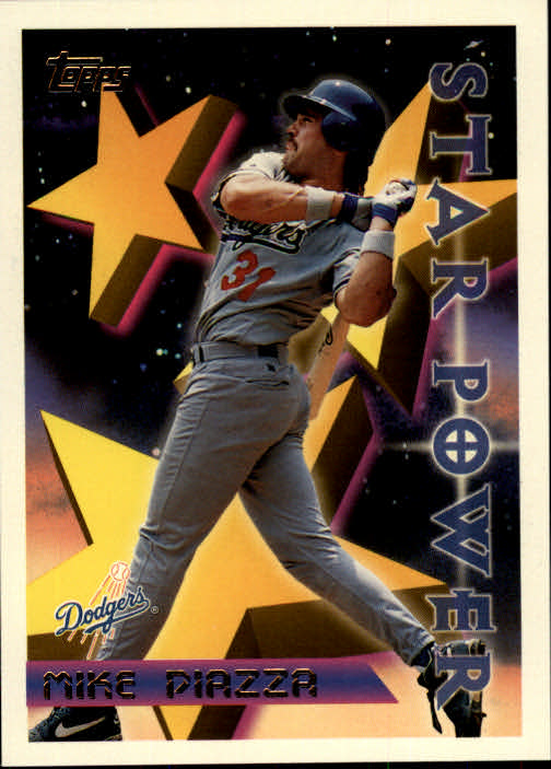 1996 Topps #2 Mike Piazza STP