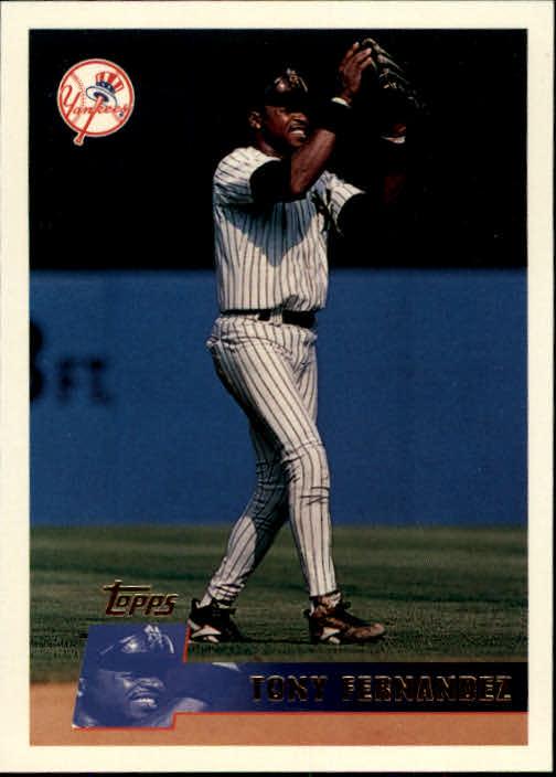 1996 Topps #27 Tony Fernandez