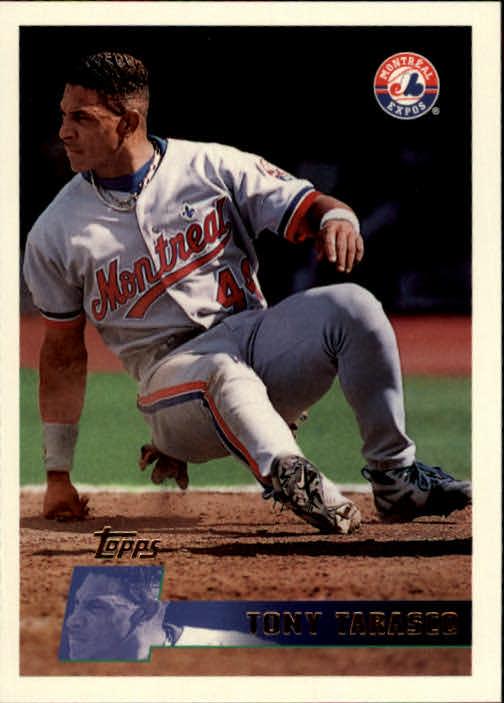 1996 Topps #37 Tony Tarasco