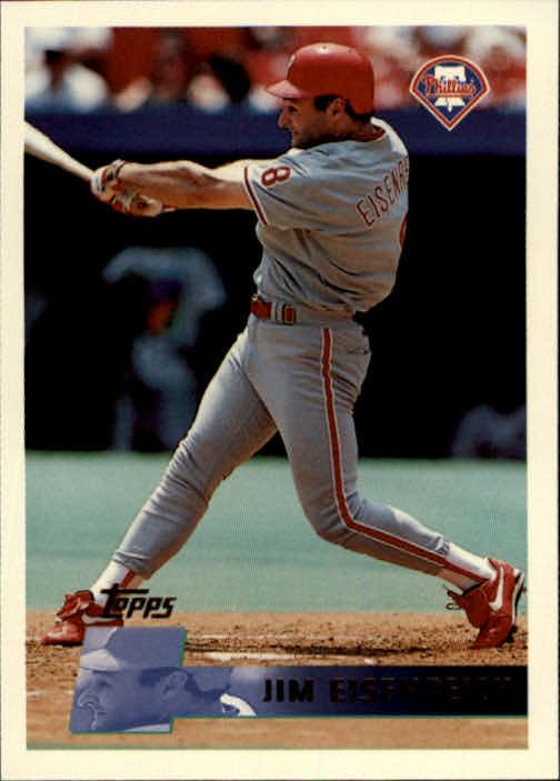 1996 Topps #66 Jim Eisenreich