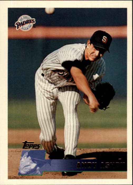 1996 Topps #82 Andy Ashby