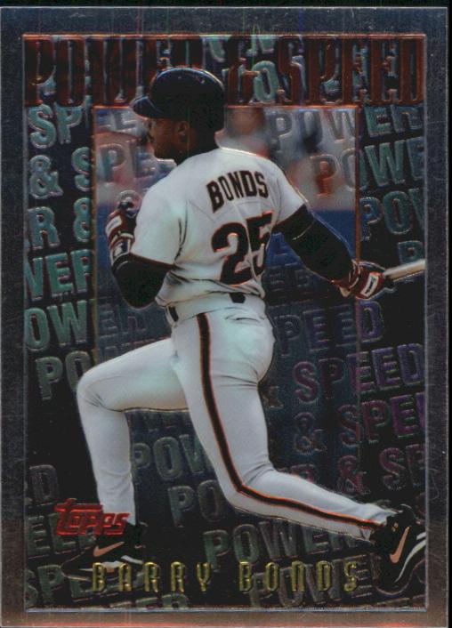 1996 Topps Mystery Finest #M13 Barry Bonds