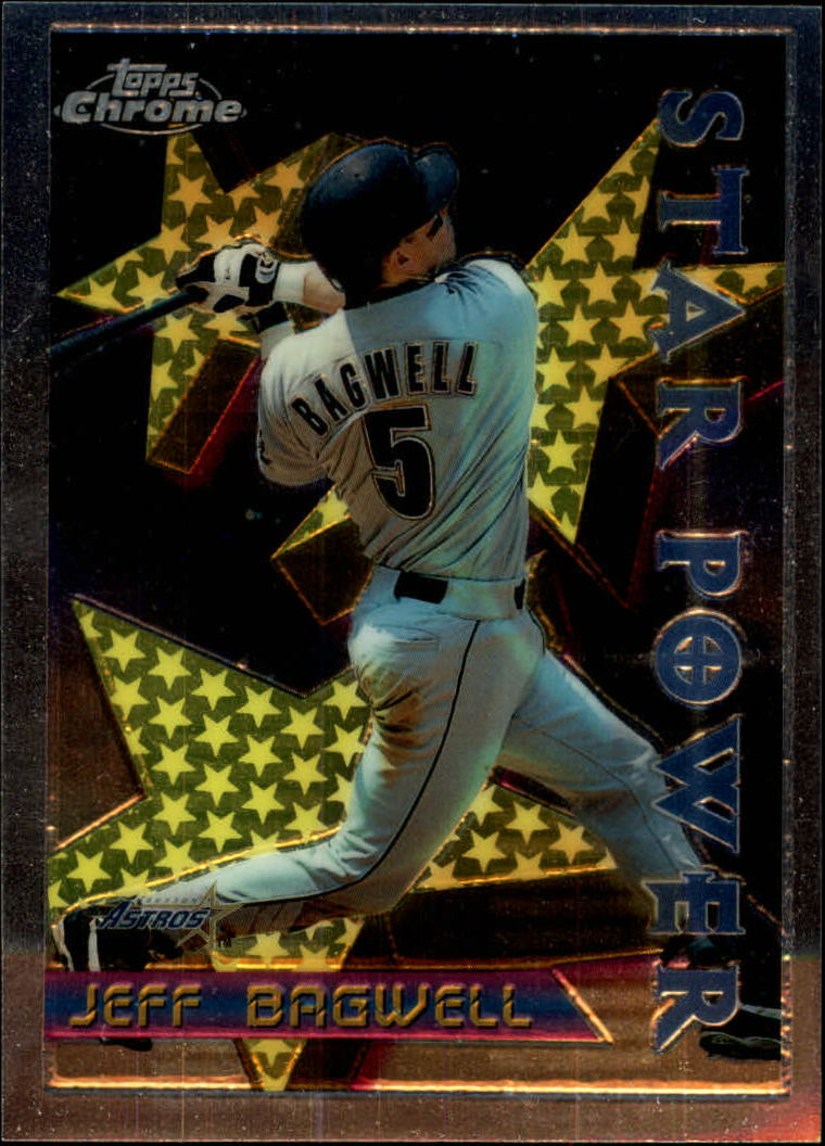1996 Topps Chrome #4 Jeff Bagwell STP