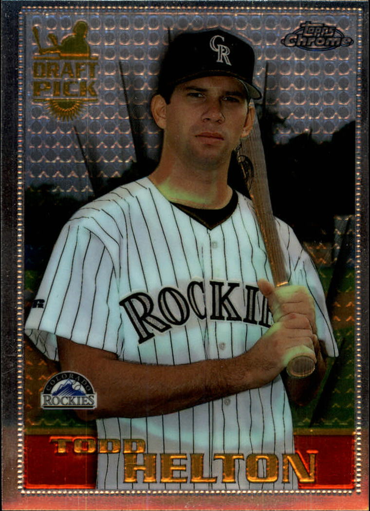 1996 Topps Chrome #13 Todd Helton