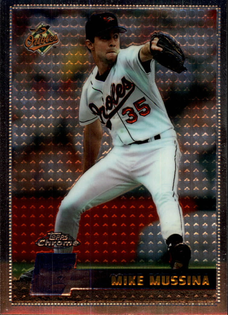 1996 Topps Chrome #23 Mike Mussina