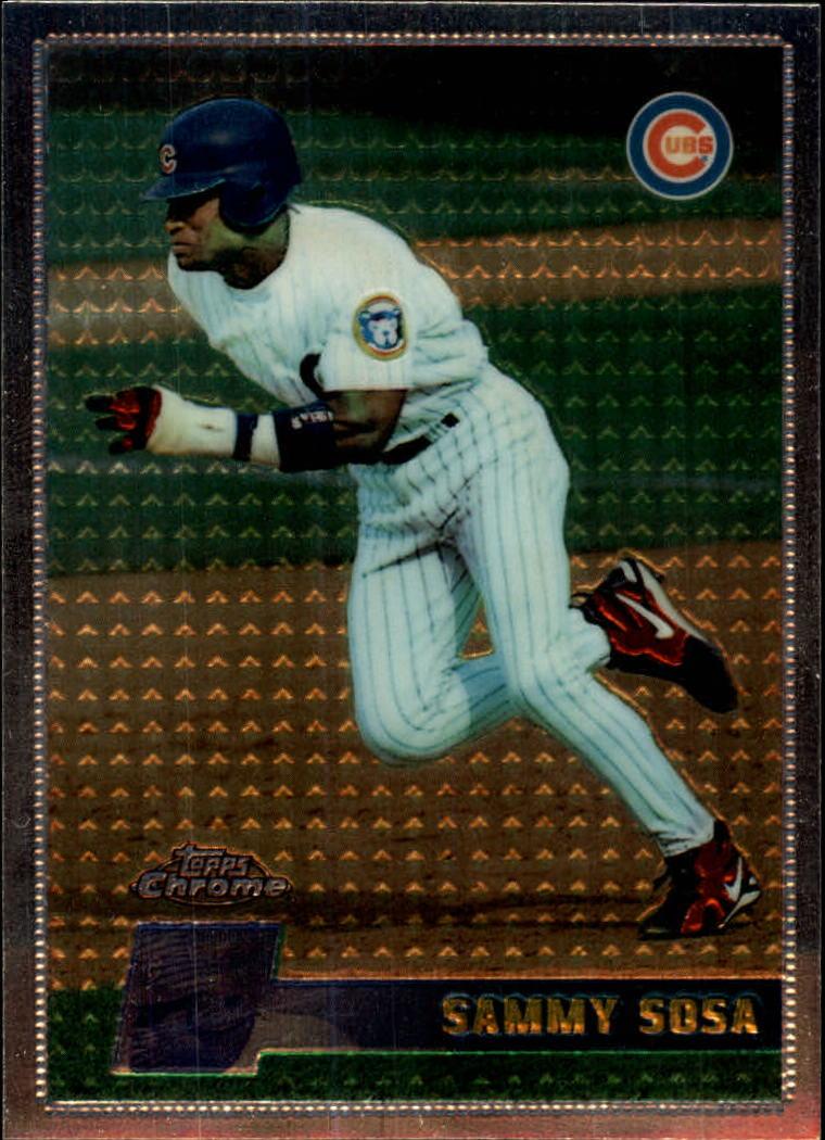 1996 Topps Chrome #99 Sammy Sosa