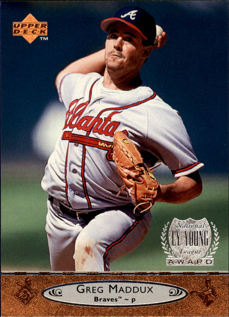 1996 Upper Deck #10 Greg Maddux