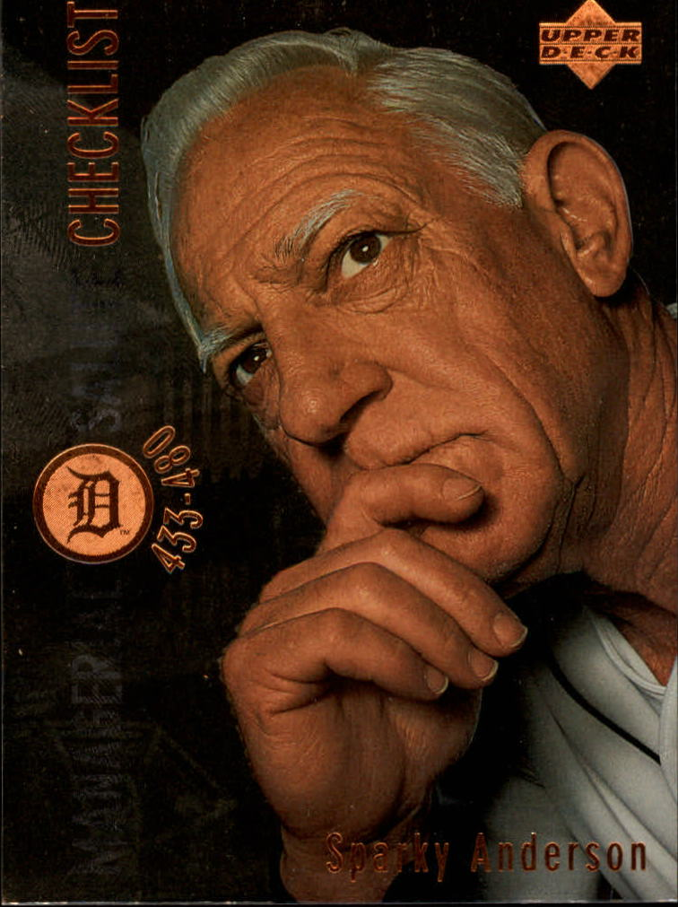 1996 Upper Deck #480 Sparky Anderson CL