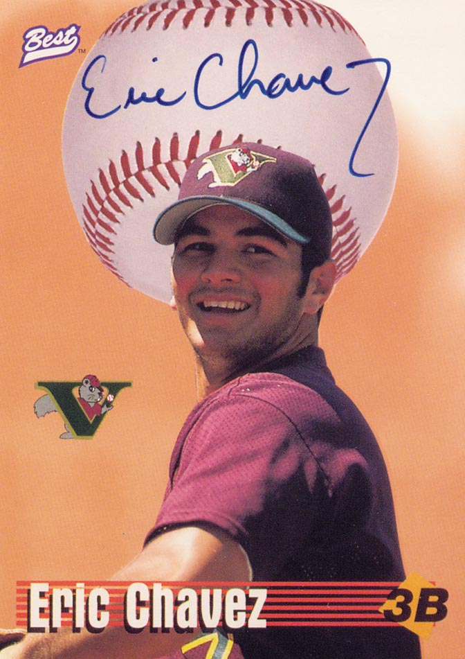 1997 Best Limited Autographs #7 Eric Chavez