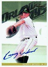 1997 Best Premium Autographs #48 Kerry Wood