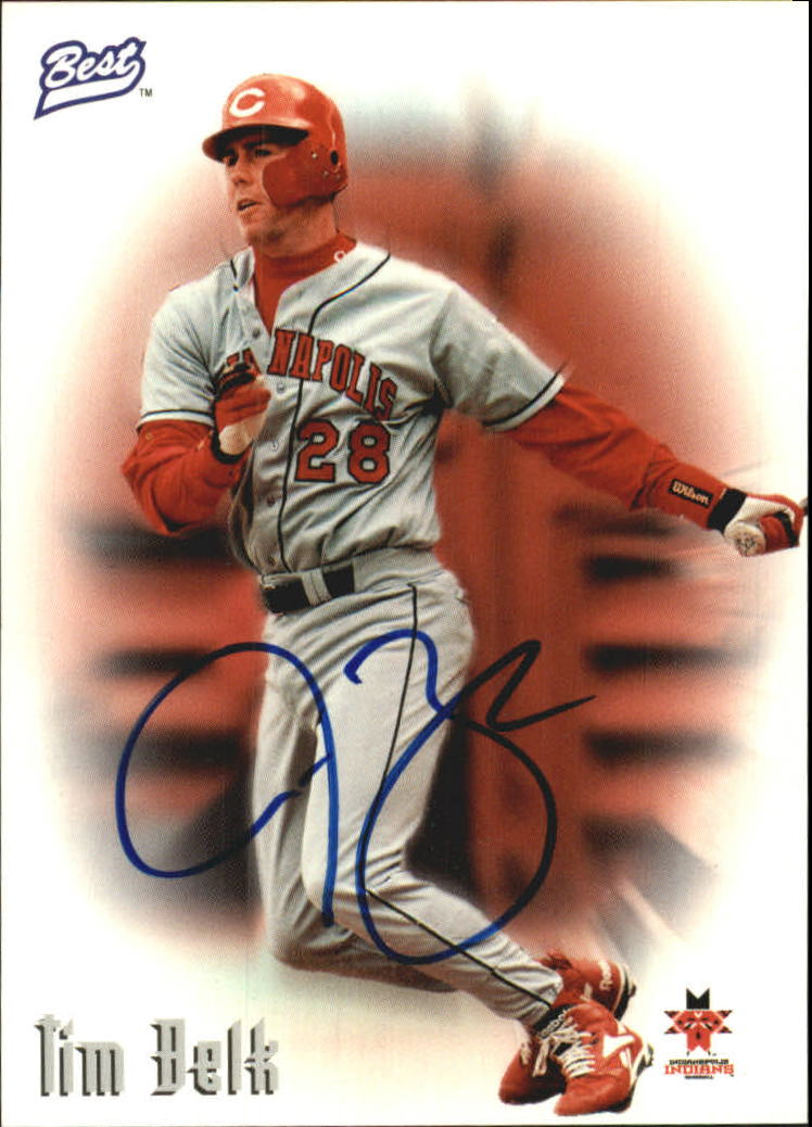 1997 Best Autographs Autograph Series #4 Tim Belk