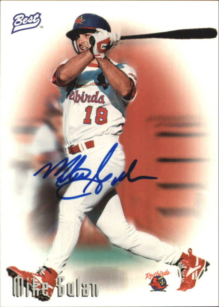 1997 Best Autographs Autograph Series #16 Mike Gulan