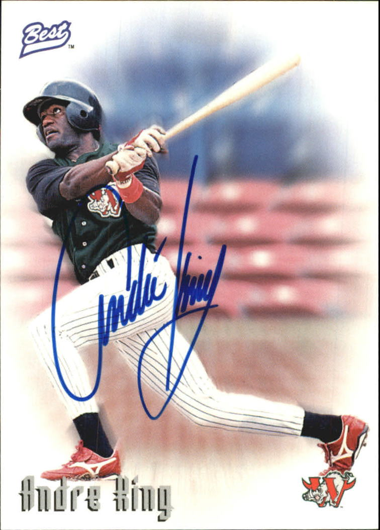 1997 Best Autographs Autograph Series #26 Andre King