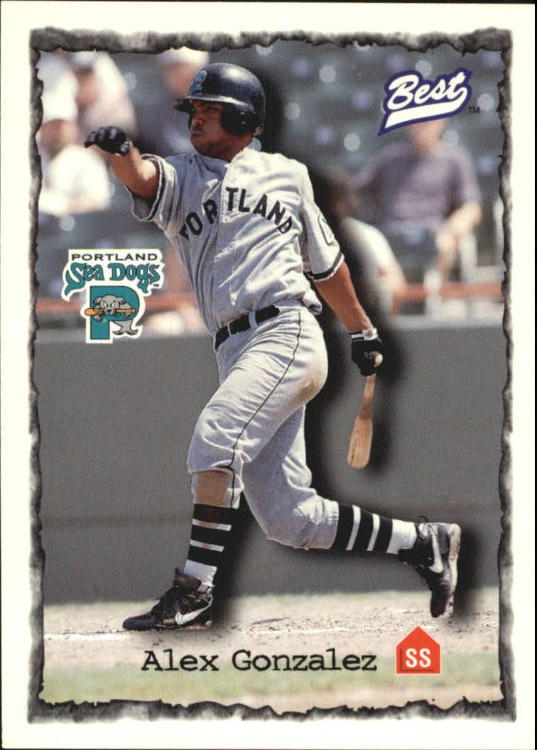 1997 Best #66 Alex Gonzalez