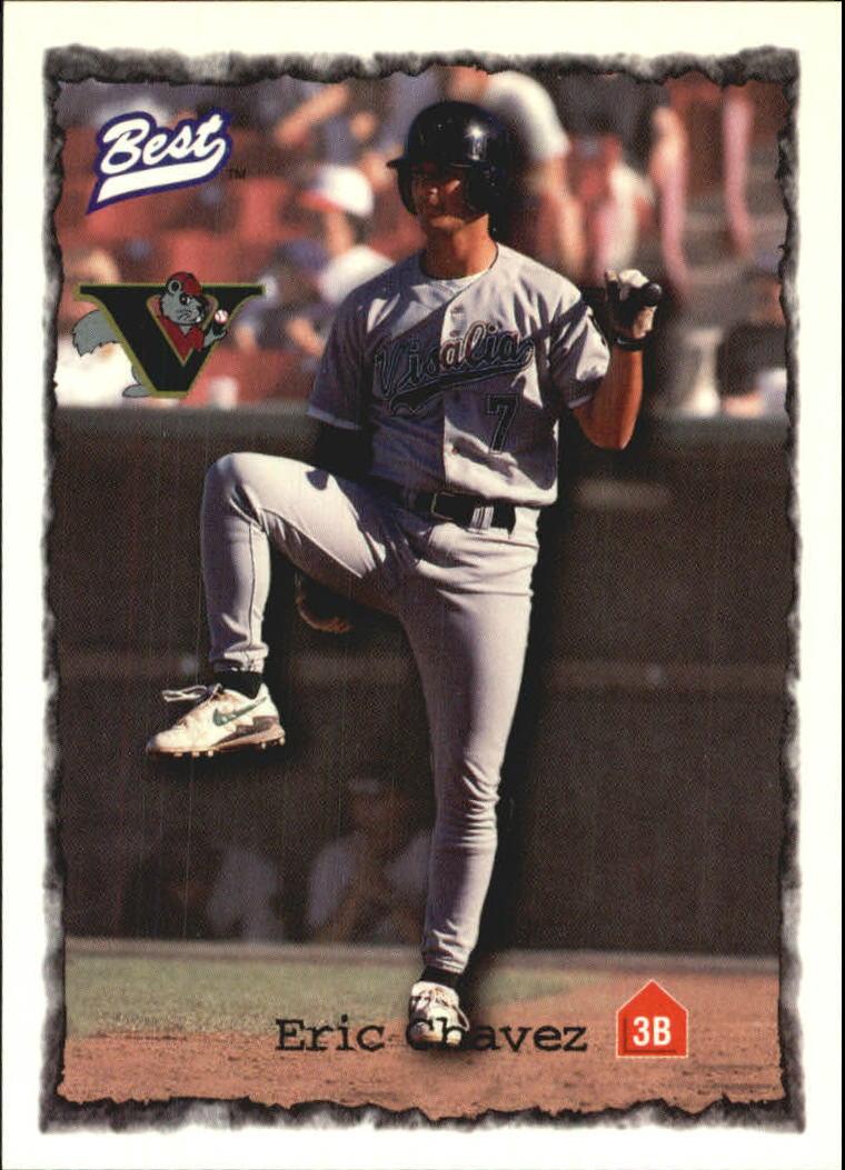 1997 Best #92 Eric Chavez