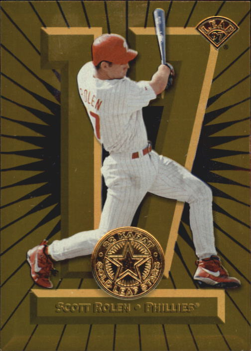 1997 Leaf Gold Stars #29 Scott Rolen