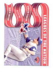 1997 Leaf Leagues of the Nation #14 D.Erstad/W.Guerrero
