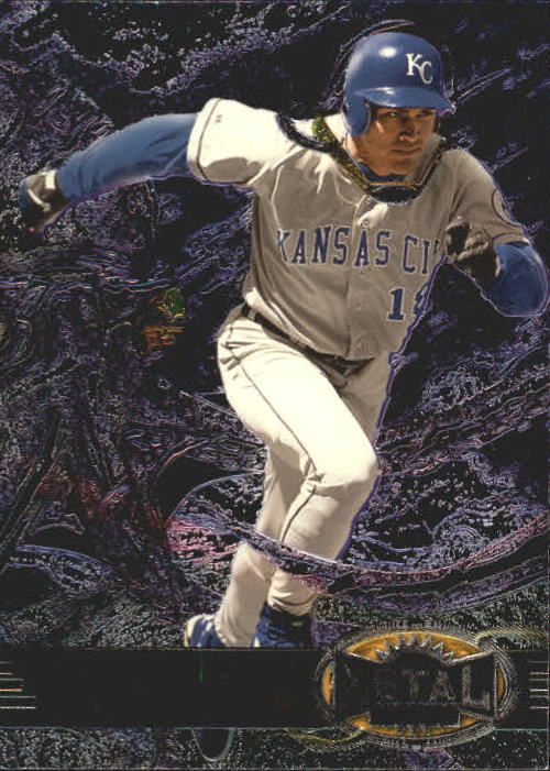 1997 Metal Universe #91 Johnny Damon