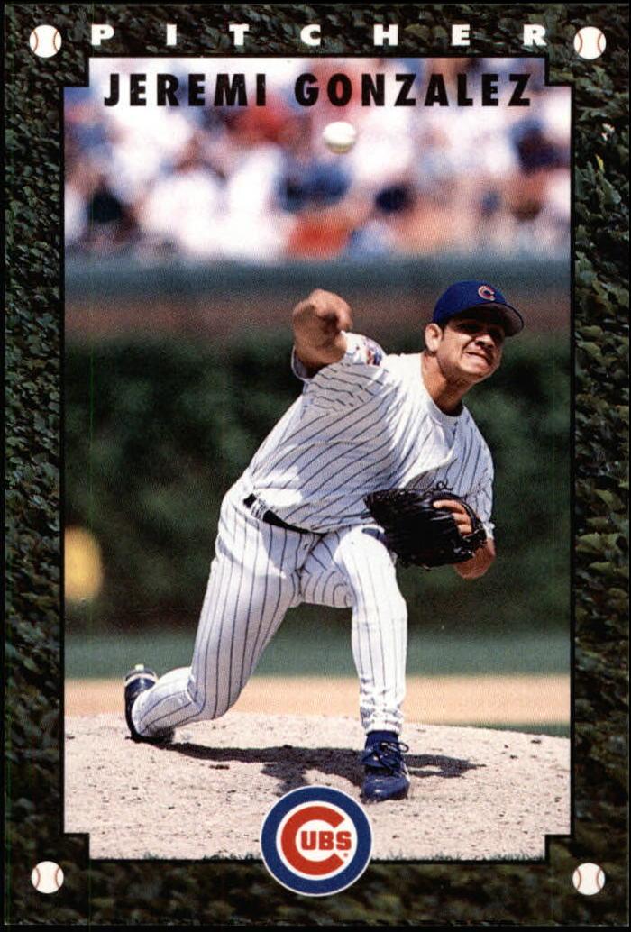 1997 Cubs Gatorade #8 Jeremi Gonzalez