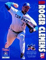 1997 Blue Jays Copi Quik Interleague #1 Roger Clemens