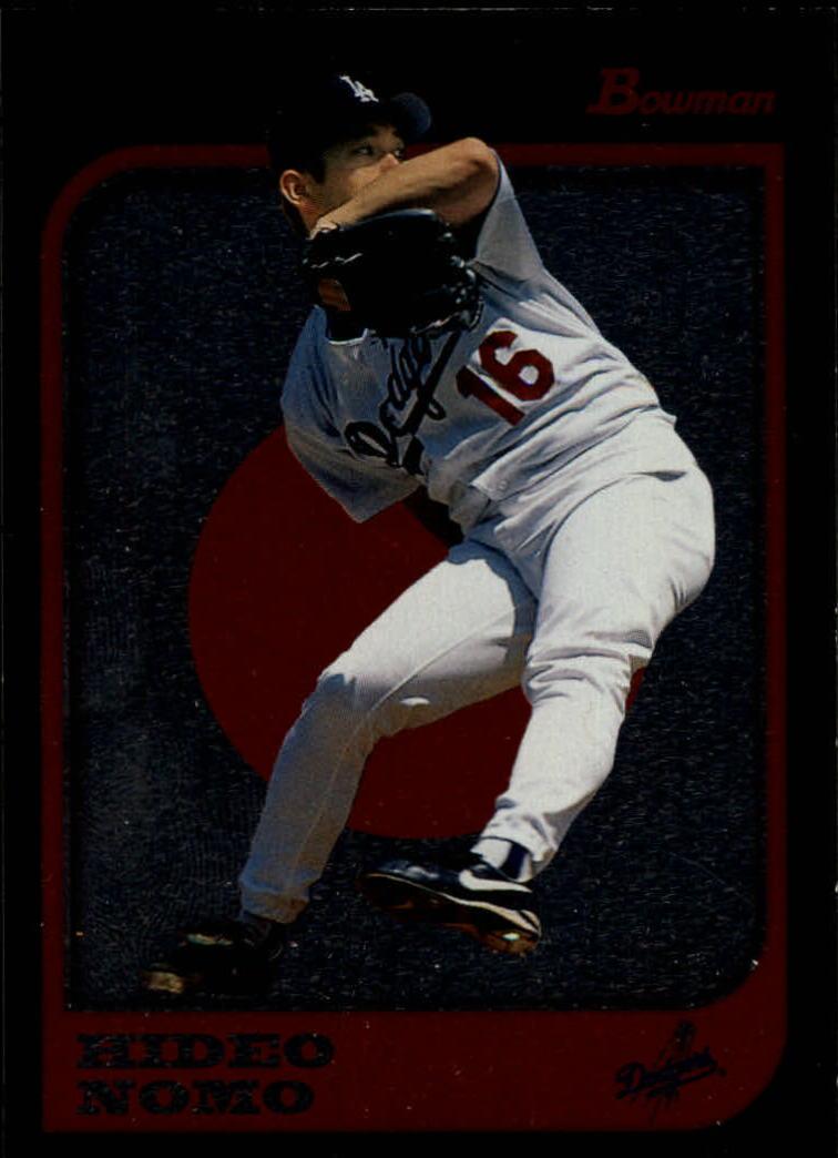 1997 Bowman International #4 Hideo Nomo