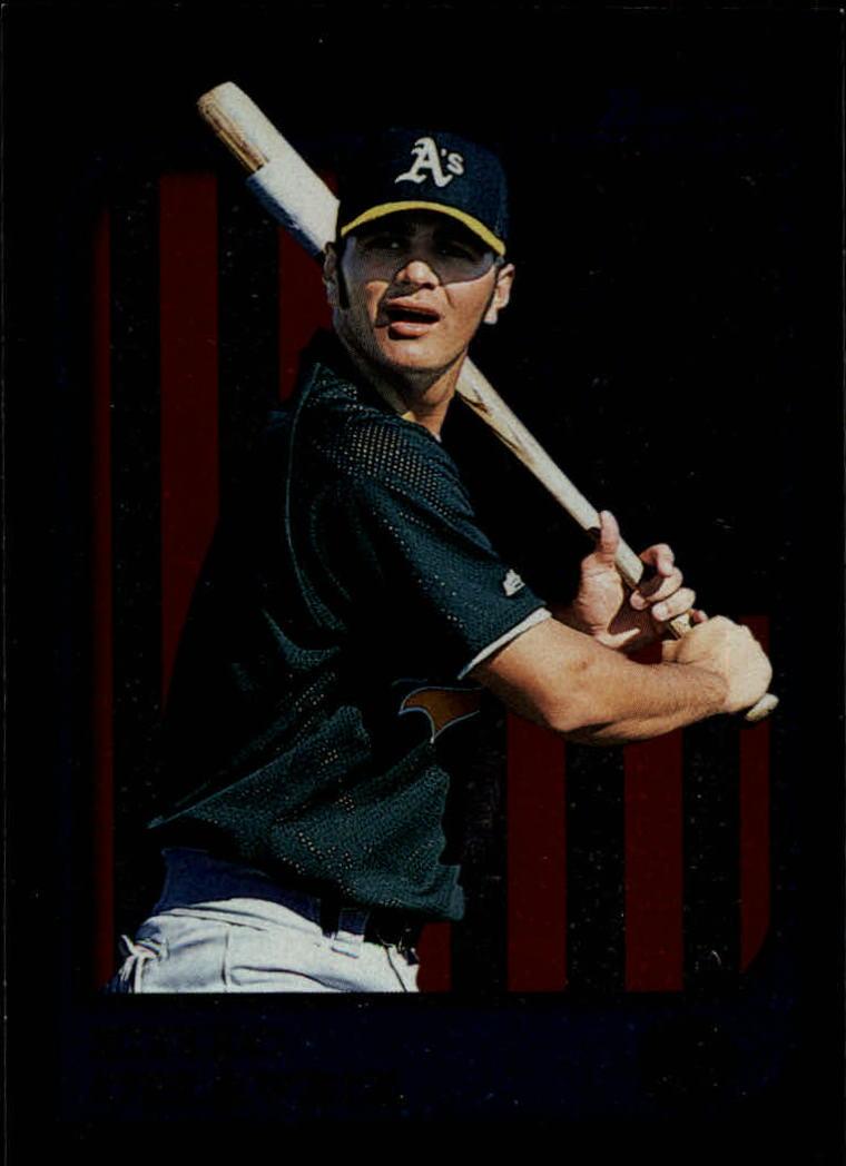 1997 Bowman International #210 Eric Chavez