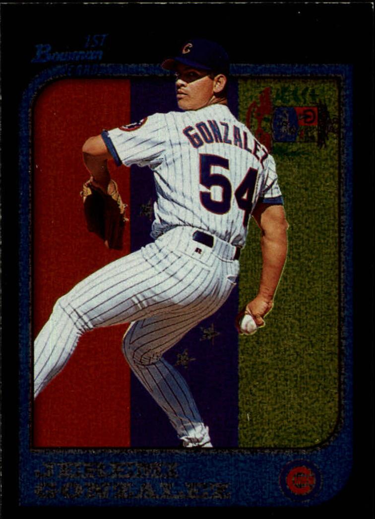 1997 Bowman International #309 Jeremi Gonzalez